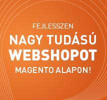 Nagytudású webáruház Magento alapokon!