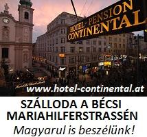 Hotel Continental Bécs - Magyarul is beszélünk!