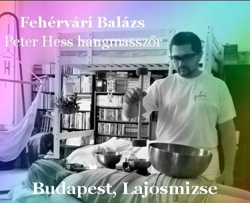 Fehérvári Balázs hangmasszőr