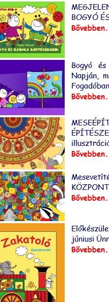 Bartos Erika weblapja - zene, diafilmek, fotk, daloló, rajzfilm