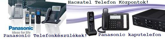 pnasonic, telefon, központ, hacsatel