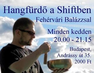 Fehérvári Balázs hangfürdői