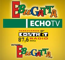 Ebugatta - kutyás műsor az Echo tévén vasárnap 13 órakor